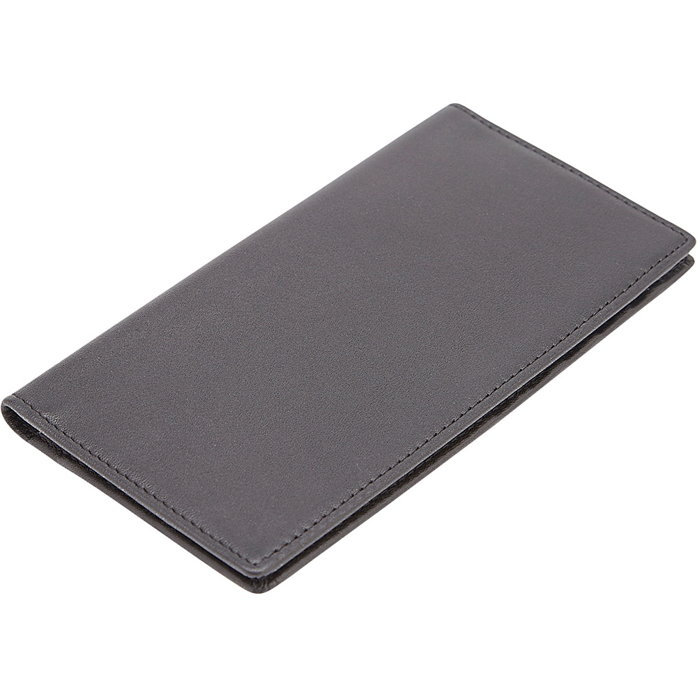 Royce Leather RFID Blocking Checkbook Holder Wallet Black - Royce Leather Mens Wallets - Work Bags & Briefcases, Men's Wallets