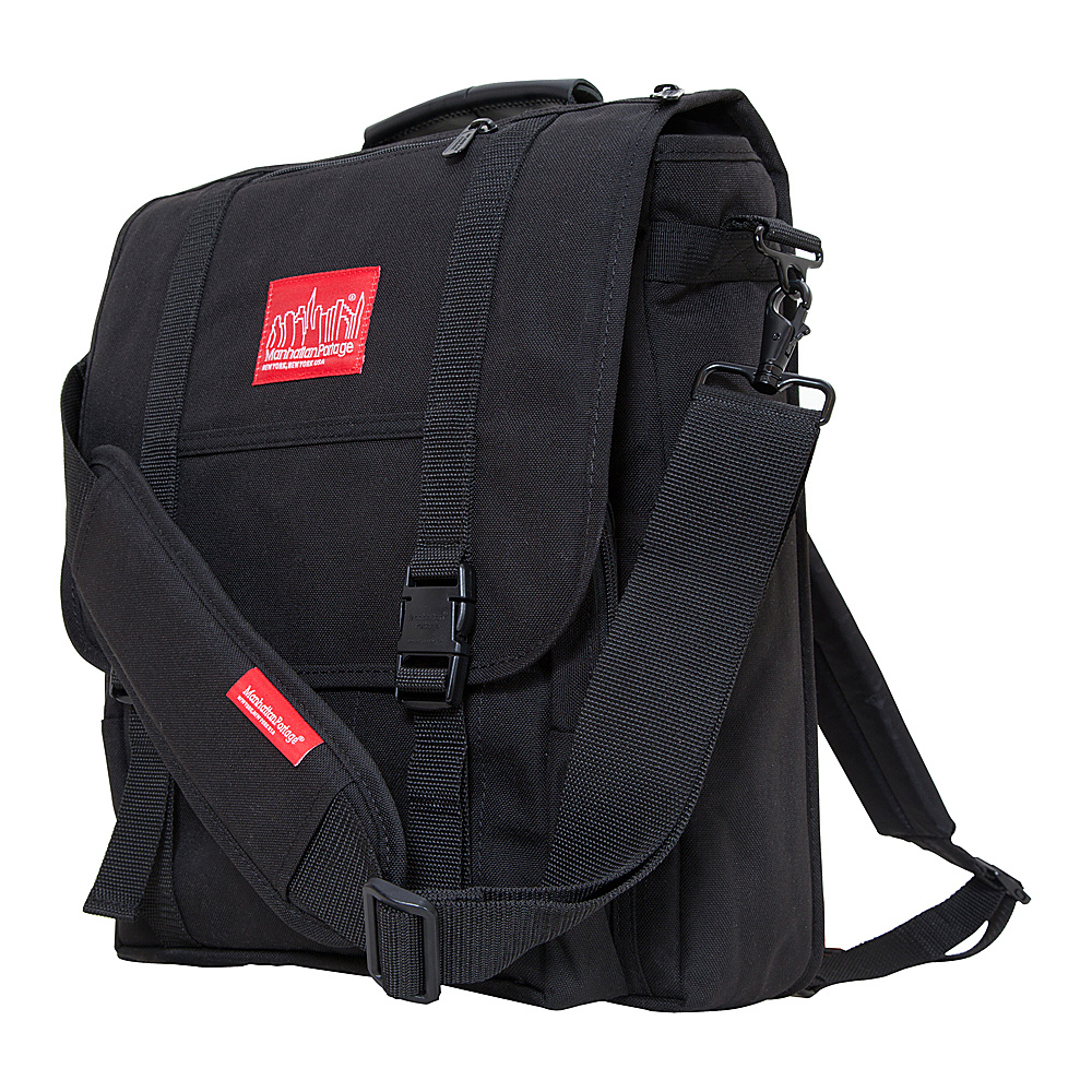 Manhattan Portage Commuter Laptop Bag Black - Manhattan Portage Other Mens Bags - Work Bags & Briefcases, Other Men's Bags