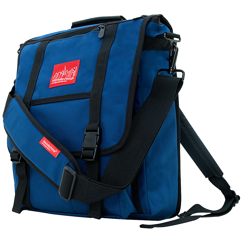 Manhattan Portage Commuter Laptop Bag Navy - Manhattan Portage Other Mens Bags - Work Bags & Briefcases, Other Men's Bags