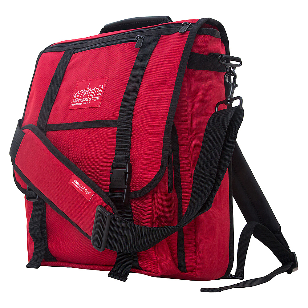 Manhattan Portage Commuter Laptop Bag Red - Manhattan Portage Other Mens Bags - Work Bags & Briefcases, Other Men's Bags