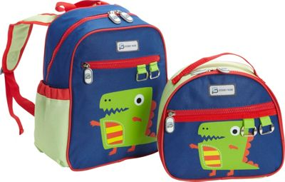 Sydney Paige Buy One/Give One Toddler Backpack + Lunch Bag Set Dino - Sydney Paige Everyday Backpacks