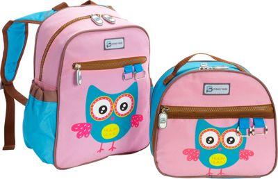 Sydney Paige Buy One/Give One Toddler Backpack + Lunch Bag Set Owl - Sydney Paige Everyday Backpacks