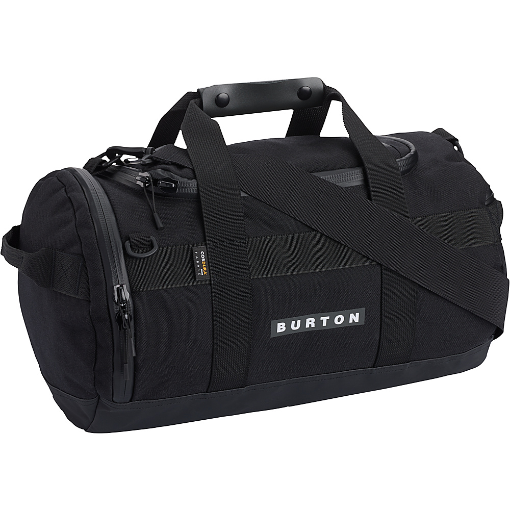 Burton Backhill Duffel 25L True Black Cordura Burton Outdoor Duffels