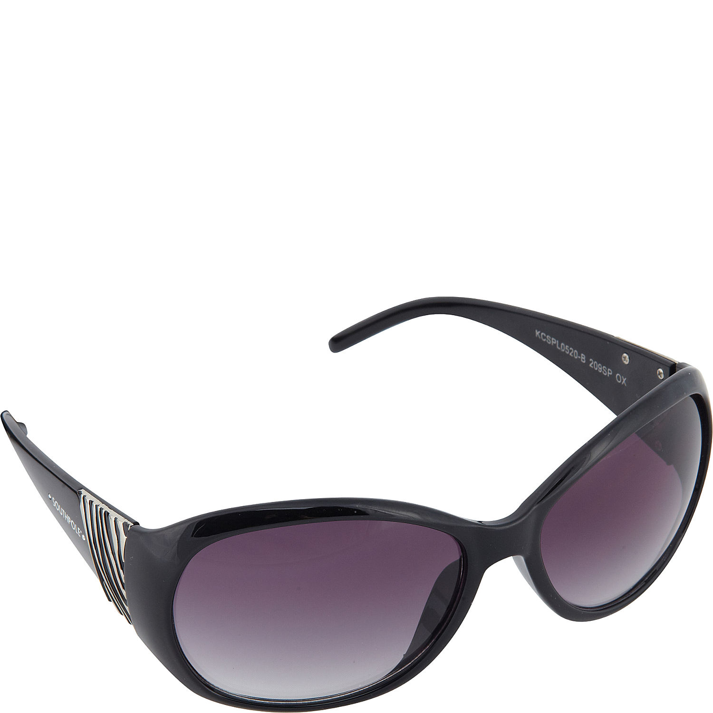 Zebra Print Glasses Frames : SouthPole Eyewear Oval Zebra Print Sunglasses - eBags.com