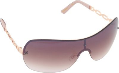 SouthPole Eyewear Metal Shield Sunglasses Rose Gold/Rose - SouthPole Eyewear Sunglasses