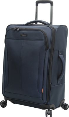 Pathfinder PX-10 28 inch Exp Spinner Navy - Pathfinder Softside Checked