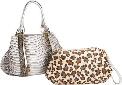 SW Global Kesha 2-in-1 Shoulder Bag Beige - SW Global Manmade Handbags