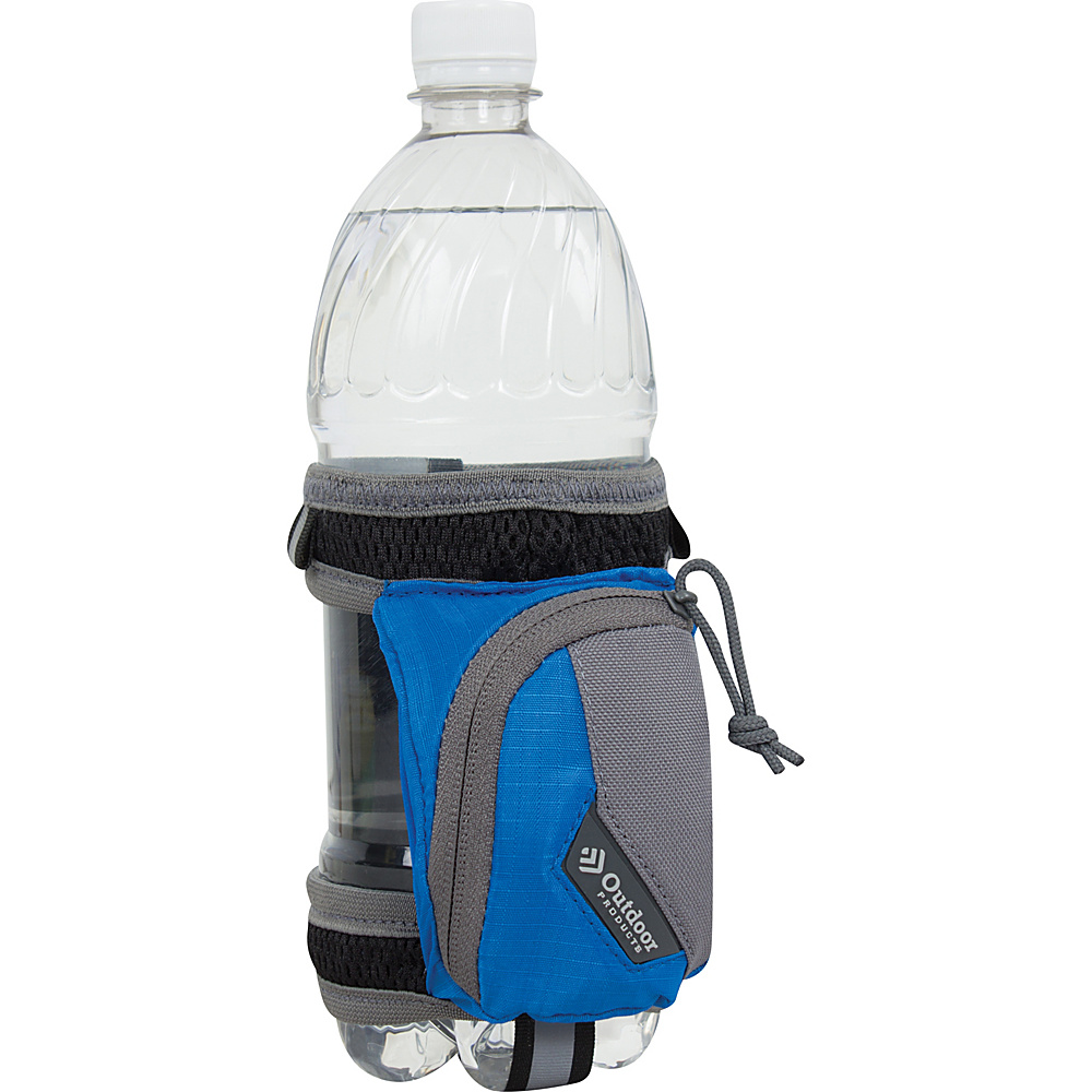 Outdoor Products H2O Stride Bottle Holder Cobalt Splash Outdoor Products Hydration Packs and Bottles