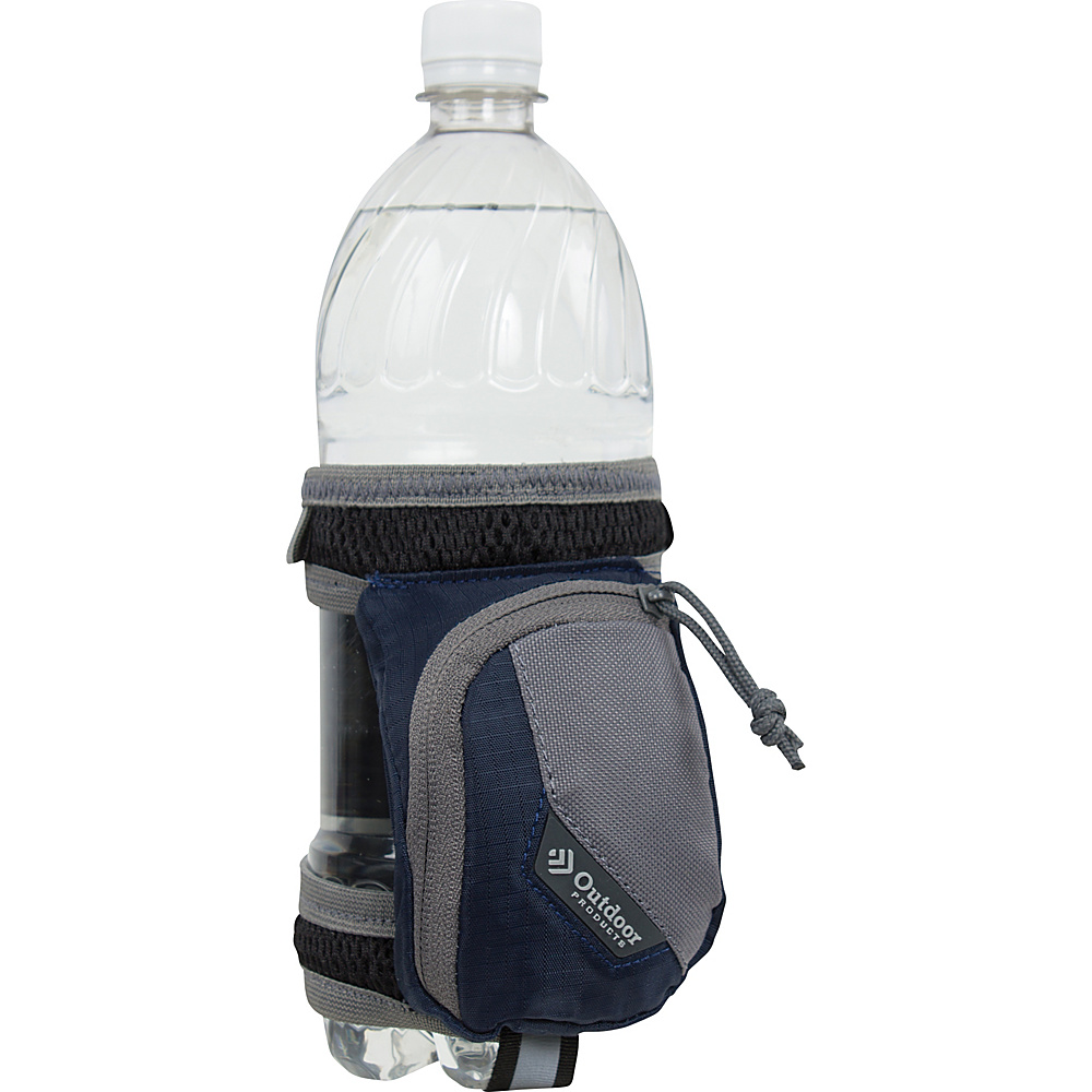 Outdoor Products H2O Stride Bottle Holder Navy Ship Outdoor Products Hydration Packs and Bottles