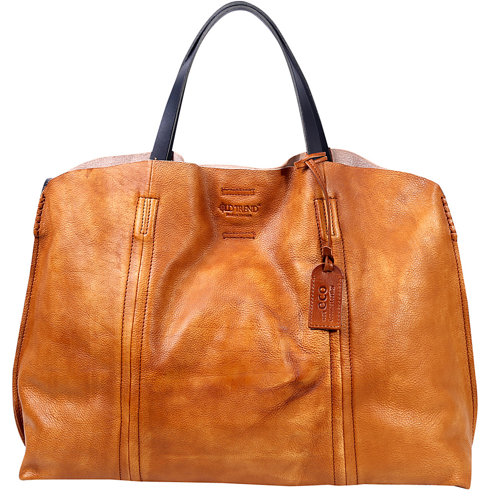 Old Trend Forest Island Tote Chestnut Old Trend Leather Handbags