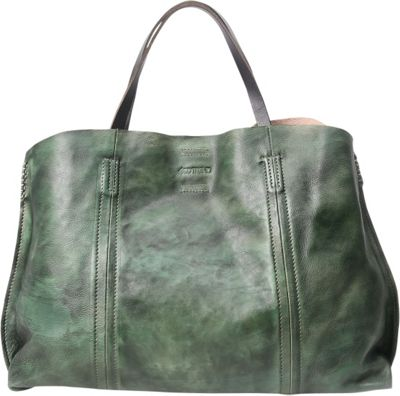 Old Trend Forest Island Tote Vintage Green - Old Trend Leather Handbags