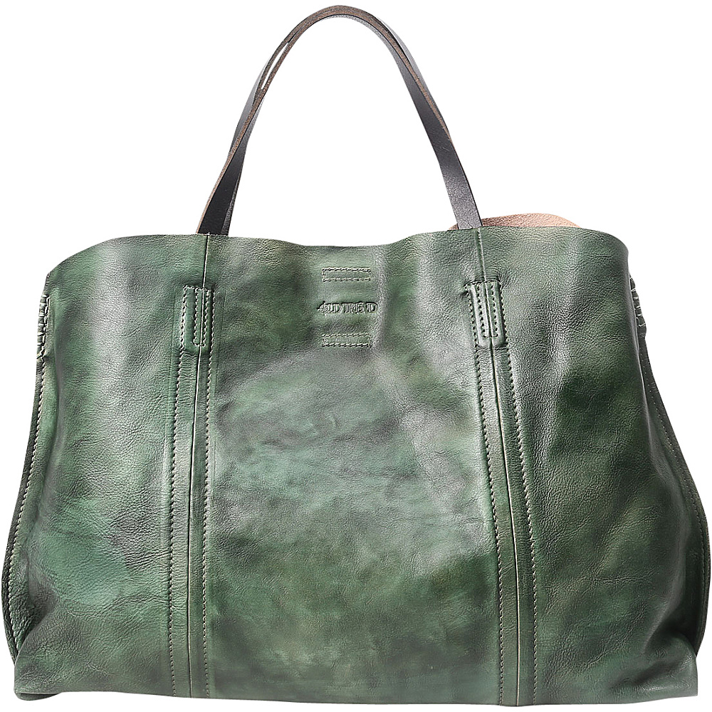 Old Trend Forest Island Tote Vintage Green Old Trend Leather Handbags