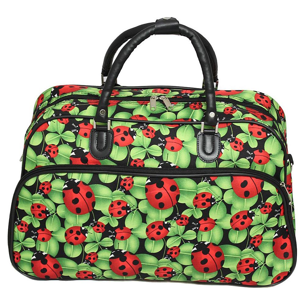 World Traveler Ladybug 21 Carry-On Duffel Bag Ladybug - World Traveler Rolling Duffels - Luggage, Rolling Duffels