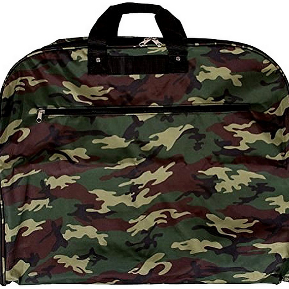 World Traveler Camouflage 40 Hanging Garment Bag Green Camo - World Traveler Garment Bags - Luggage, Garment Bags
