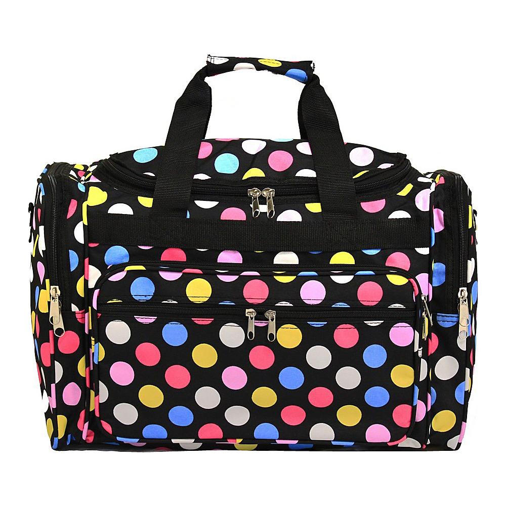 World Traveler Dots ll 19 Shoulder Duffle Bag Multi Dot II - World Traveler Rolling Duffels - Luggage, Rolling Duffels
