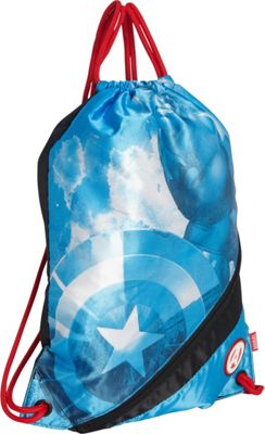 Hello Kitty Golf Marvel Captain America Sackpack BLUE - Hello Kitty Golf Everyday Backpacks