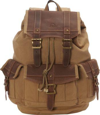 TSD Turtle Ridge Backpack Camel - TSD Business & Laptop Backpacks