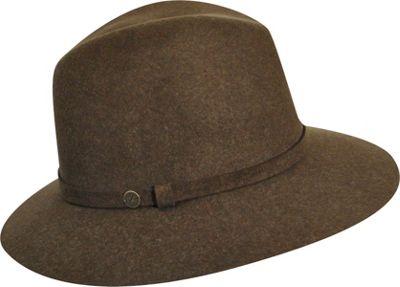 Karen Kane Hats Raw Edge Trilby NU Olive Mix - Karen Kane Hats Hats/Gloves/Scarves