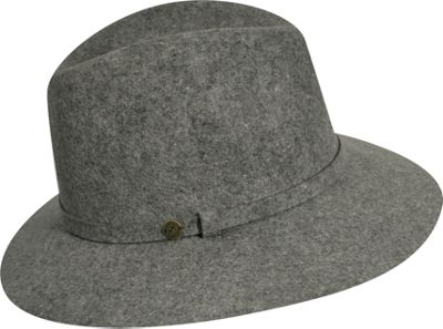 Karen Kane Hats Raw Edge Trilby Slate Mix - Karen Kane Hats Hats/Gloves/Scarves