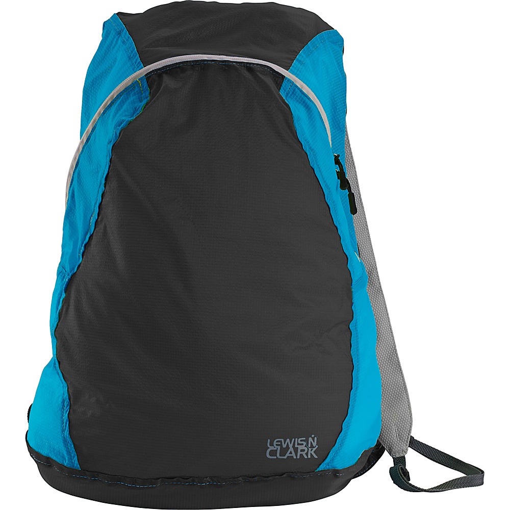 Lewis N. Clark ElectroLight Backpack Charcoal/Blue - Lewis N. Clark Packable Bags