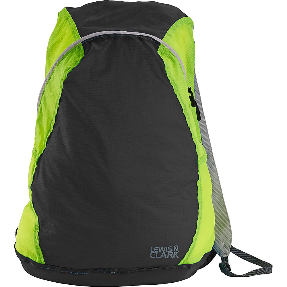 Lewis N. Clark ElectroLight Backpack Charcoal Green Lewis N. Clark Packable Bags