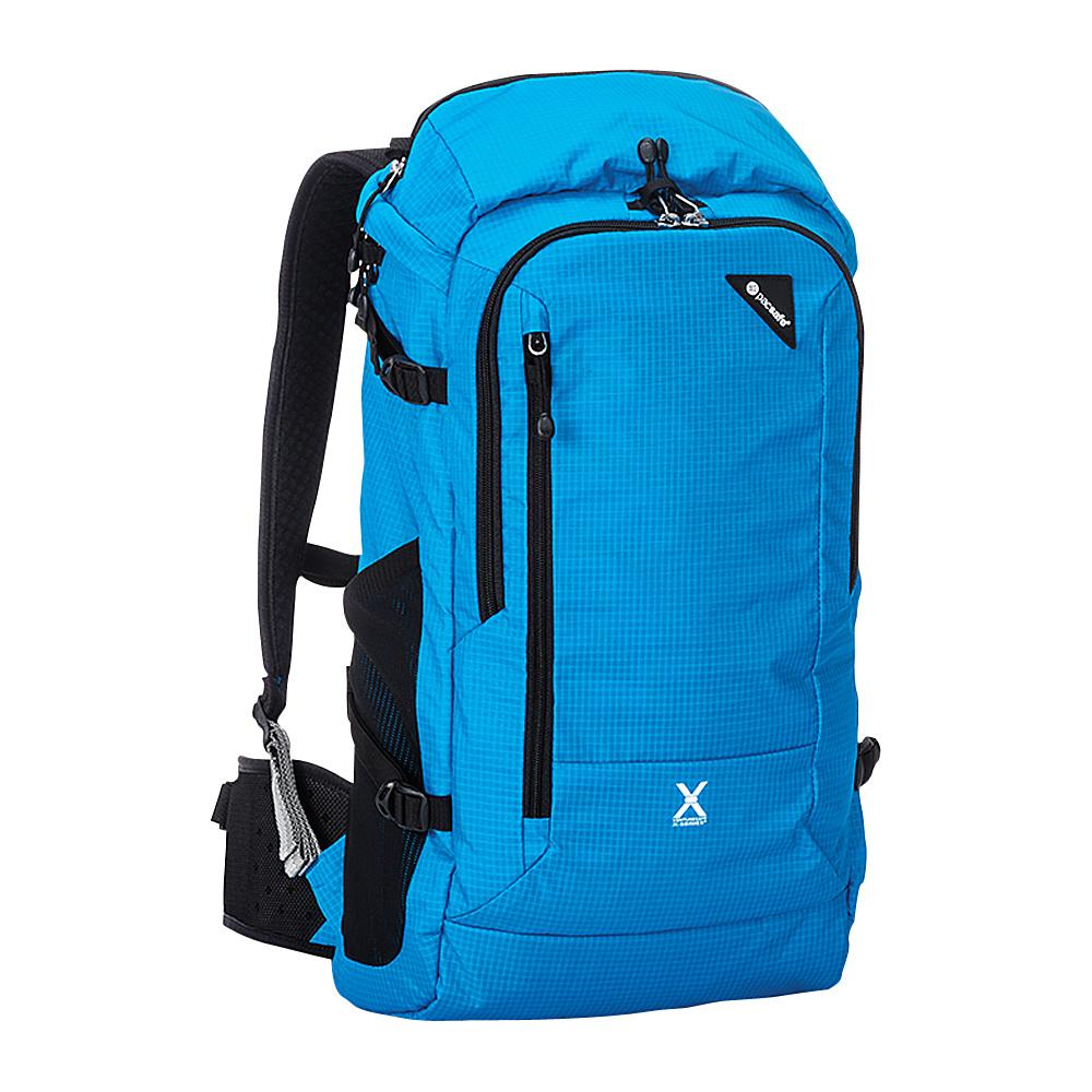 Pacsafe Venturesafe X30 Anti-Theft Adventure Backpack Hawaiian Blue - Pacsafe Laptop Backpacks