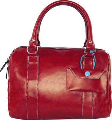 Urban Junket Kelsey Satchel Scarlet - Urban Junket Fabric Handbags