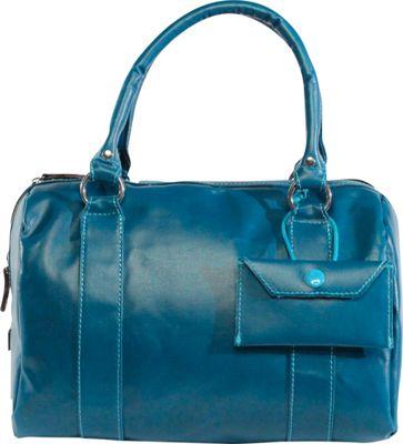 Urban Junket Kelsey Satchel Lagoon - Urban Junket Fabric Handbags