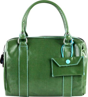 Urban Junket Kelsey Satchel Grass - Urban Junket Fabric Handbags