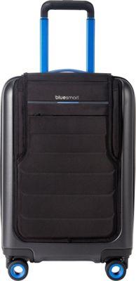Bluesmart 22 inch Smart Carry-On Spinner Black - Bluesmart Hardside Carry-On