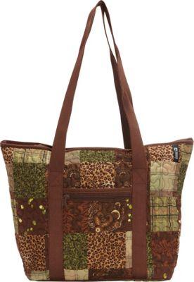 Donna Sharp Medium Celina Shoulder Bag - Exclusive Safari - Donna Sharp Fabric Handbags