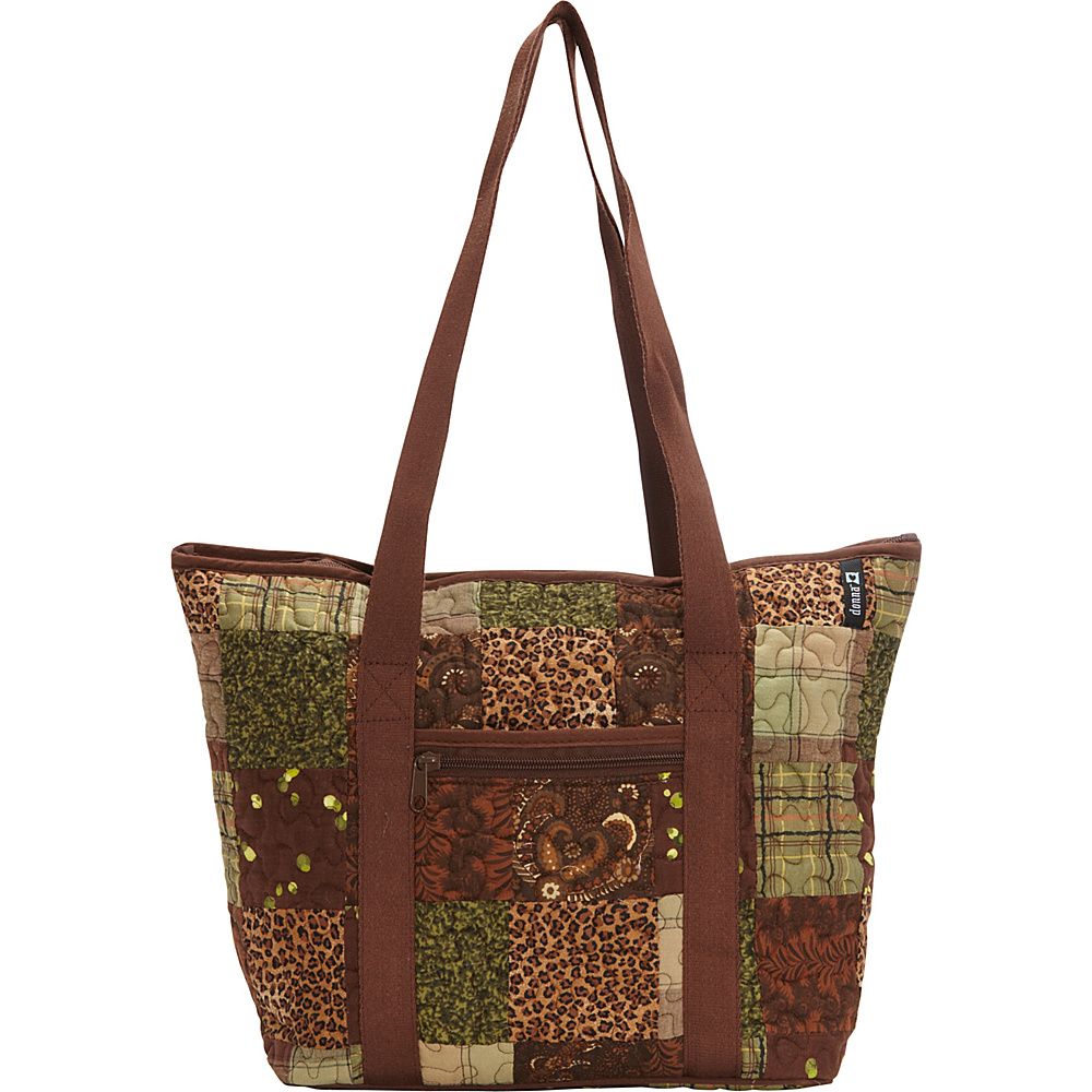 Donna Sharp Medium Celina Shoulder Bag Exclusive Safari Donna Sharp Fabric Handbags