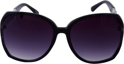 Laundry by Shelli Segal Sunglasses Oversized Glam with Chain Detail Sunglasses Black - Laundry by Shelli Segal Sunglasses Sunglasses