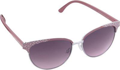 Nanette Nanette Lepore Sunglasses Textured Cat Eye Sunglasses Rose Gold/Nude - Nanette Nanette Lepore Sunglasses Sunglasses
