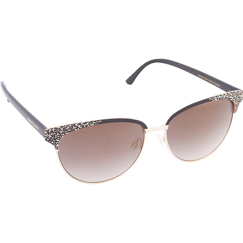 764e8fcf871 UPC 781268728928 product image for Nanette Nanette Lepore Sunglasses  Textured Cat Eye Sunglasses Gold Black ...