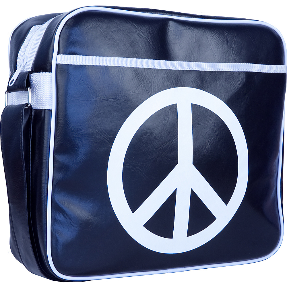 Urban Factory Vintage Collection Peace Love Bag 12 Blue Urban Factory Non Wheeled Business Cases