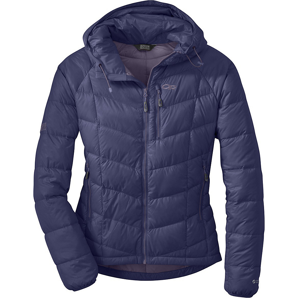 Outdoor Research Womens Sonata Hoody XS - Blue Violet/Fig - Outdoor Research Womens Apparel - Apparel & Footwear, Women's Apparel