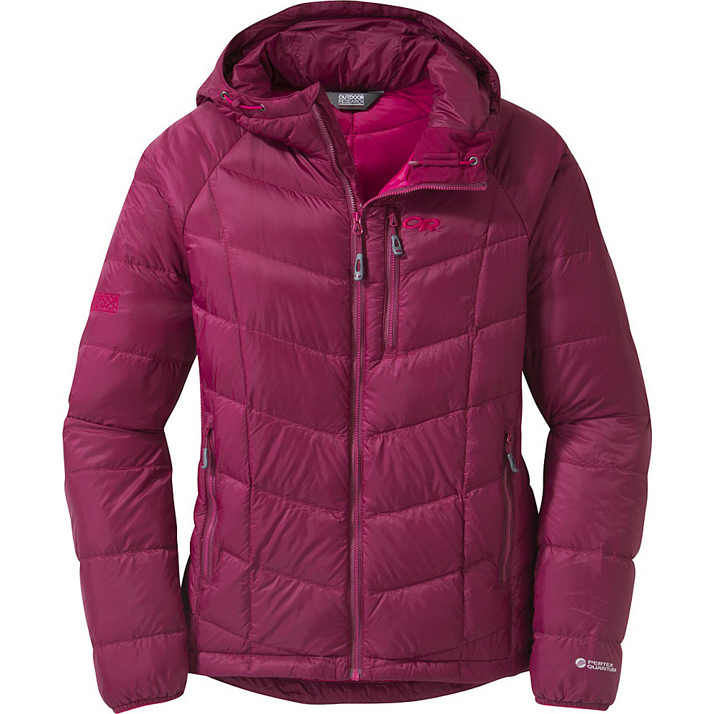 Outdoor Research Womens Sonata Hoody XS - Raspberry/Desert Sunrise - Outdoor Research Womens Apparel - Apparel & Footwear, Women's Apparel
