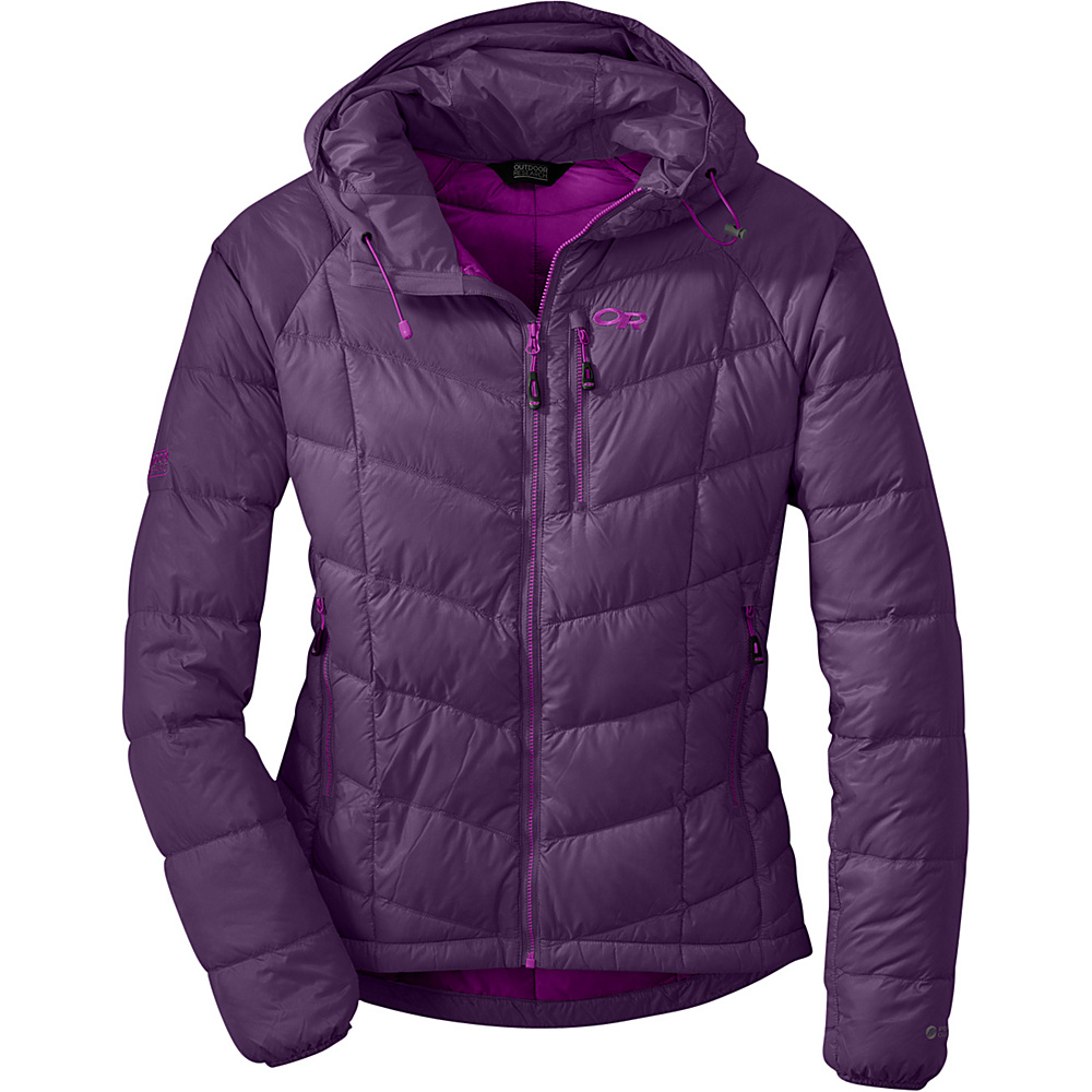 Outdoor Research Womens Sonata Hoody XS - Elderberry - Outdoor Research Womens Apparel - Apparel & Footwear, Women's Apparel