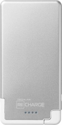 Techlink Recharge 3000 Ultrathin MicroUSB Silver/White - Techlink Portable Batteries & Chargers