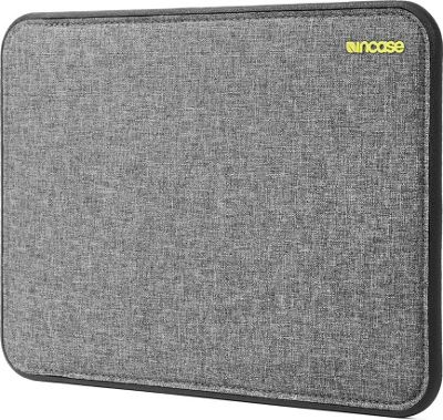 Incase Icon Sleeve with Tensaerlite 12 inch MacBook Heather Gray/Black - Incase Electronic Cases
