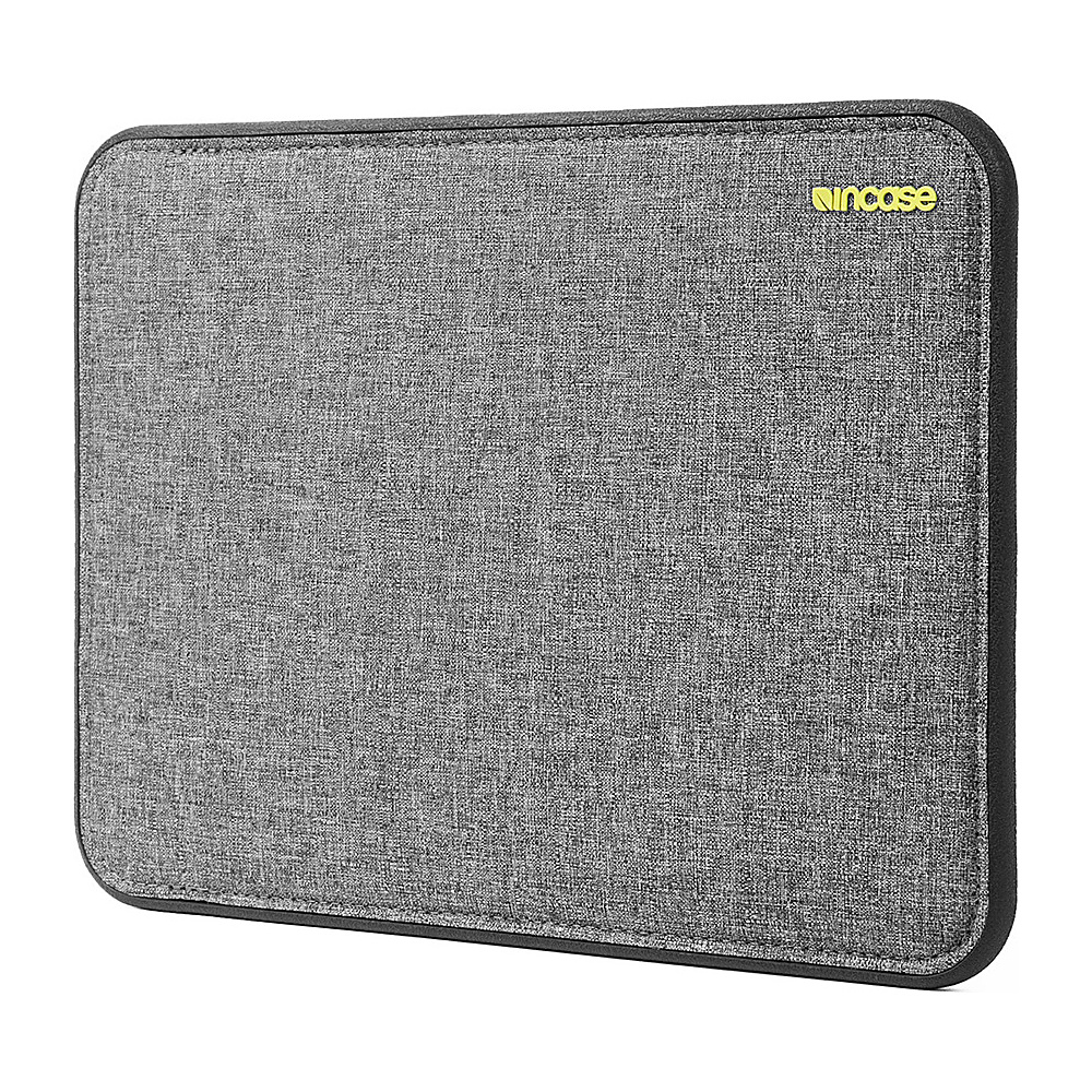 Incase Icon Sleeve with Tensaerlite 12 MacBook Heather Gray Black Incase Electronic Cases