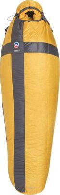 Big Agnes Zirkel UL 20 Sleeping Bag Sunflower/Graphite - Regular Left - Big Agnes Outdoor Accessories