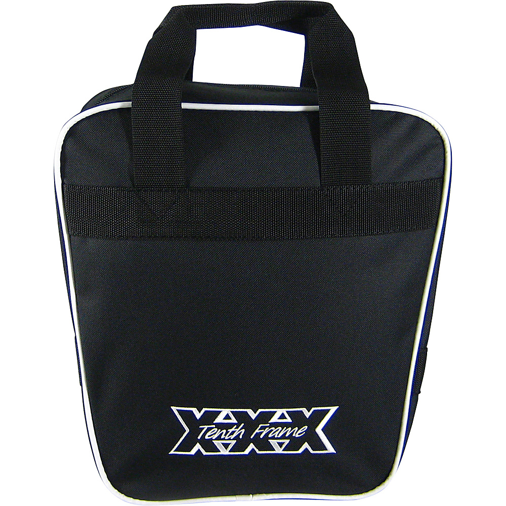 Tenth Frame Companion Single Tote Black - Tenth Frame Bowling Bags