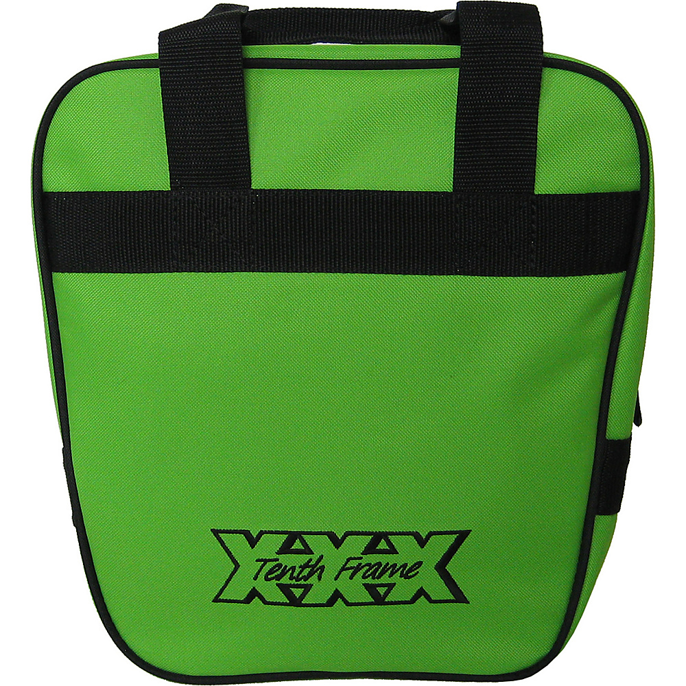 Tenth Frame Companion Single Tote Lime - Tenth Frame Bowling Bags