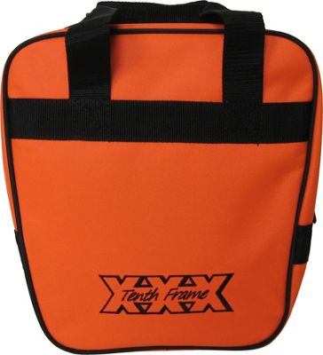 Tenth Frame Companion Single Tote Orange - Tenth Frame Bowling Bags