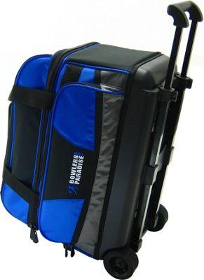 Bowler's Paradise Double Roller Blue - Bowler's Paradise Bowling Bags