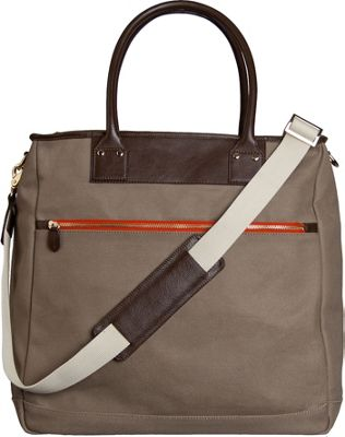 Boulevard Charlie Oversized Tote Tan/Coffee - Boulevard Fabric Handbags