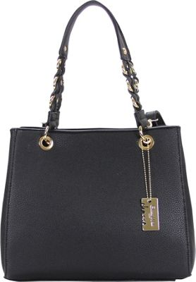 Chasse Wells Vrai Shoulder Tote Black - Chasse Wells Manmade Handbags