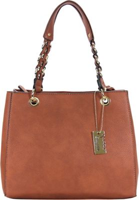 Chasse Wells Vrai Shoulder Tote Brown - Chasse Wells Manmade Handbags